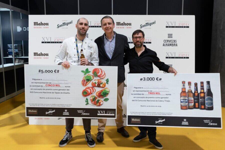 Nicolas Roman Premio XVI Concurso Nacional de Tapas en Madrid Fusion